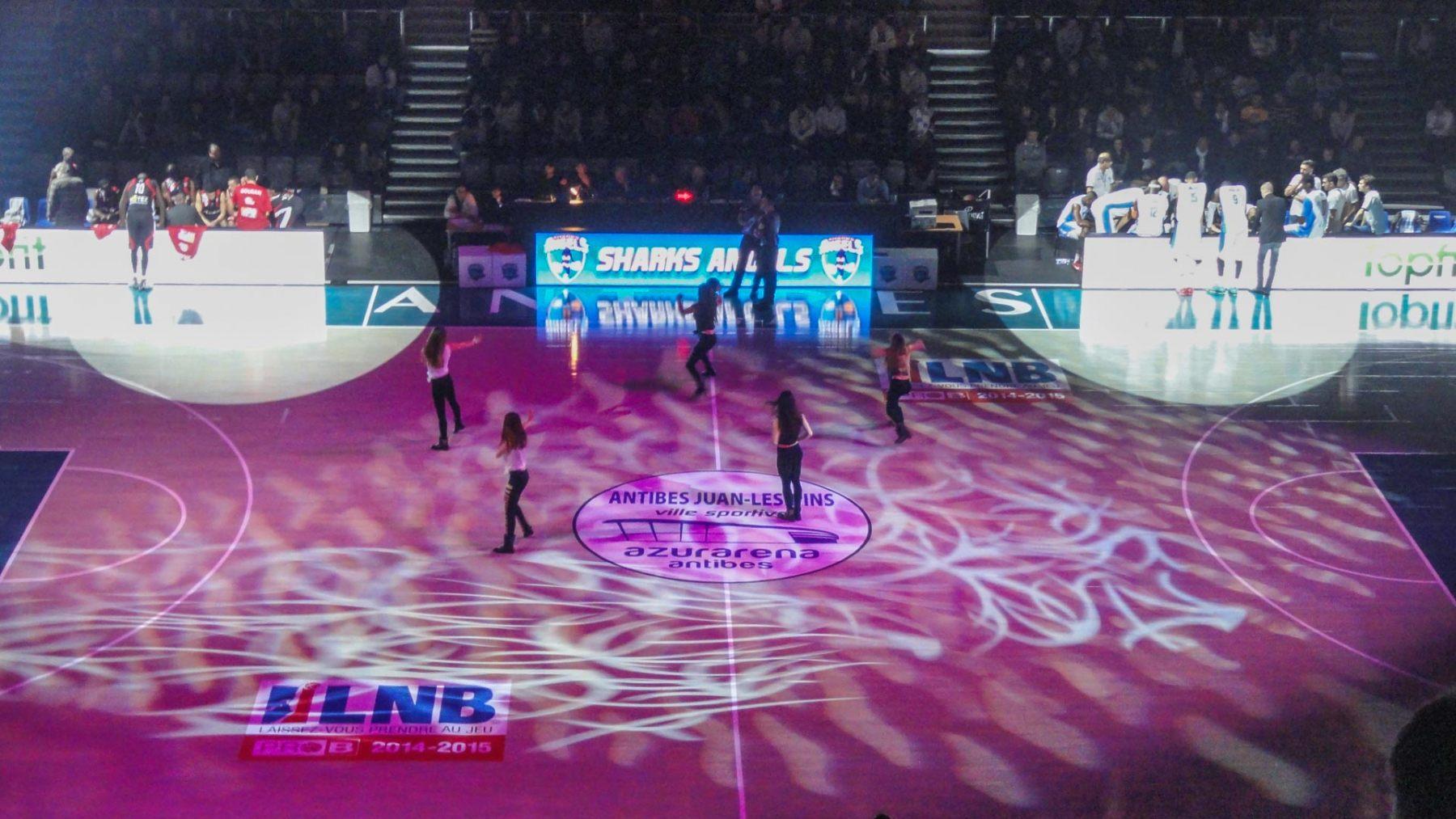 DECIBEL06 - Sport BASKET PRO A- Sound-Light-Video