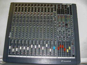Console Soundcraft Spirit Live Image