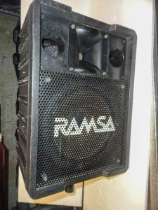 Enceinte RAMSA WS-A200E + embase Image