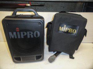 Enceinte Mipro MA705 + micro HF Image
